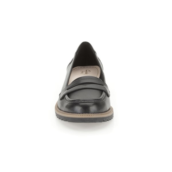 The Bay Ladies Black Leather Casual Shoes