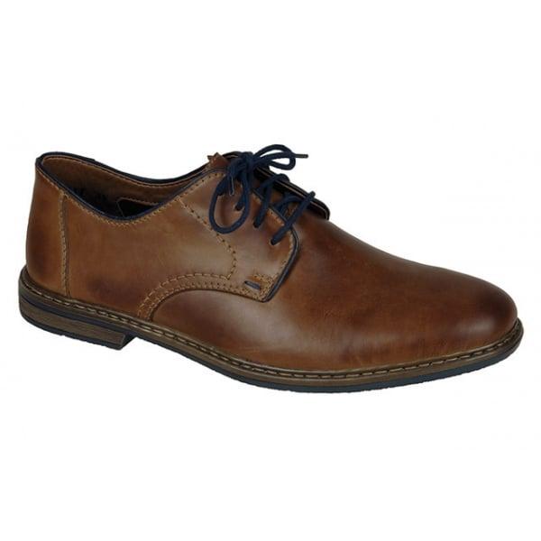 Rieker Mens Ramon Brown Shoes