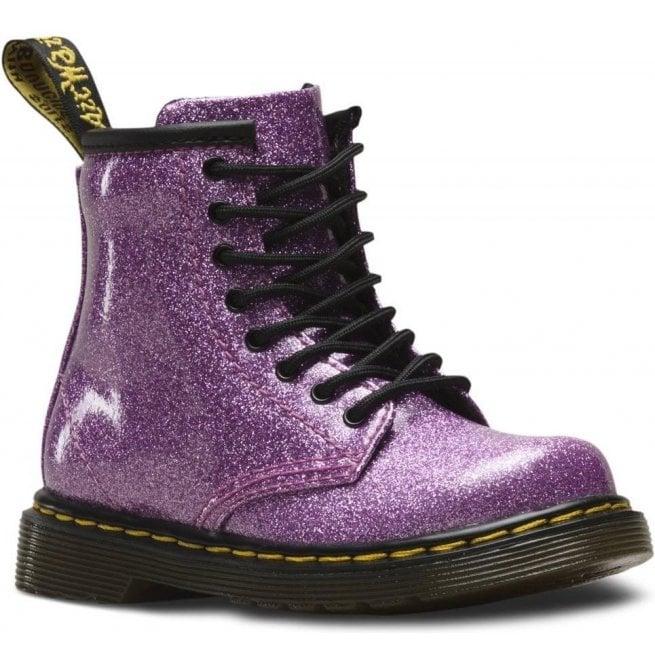 f6d2d4ac57 Dr Martens - Kids Dr Martens - Kids 1460 Glitter Pink Leather Infant Ankle  Boots 24290960