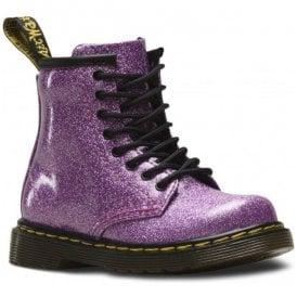 4c2838191f76 1460 Glitter Pink Leather Infant Ankle Boots 24290960 · Dr Martens - Kids  ...