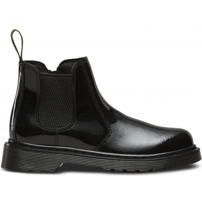 f2936b5044afe Dr Martens Banzai Black Patent Chelsea Boots 22677001