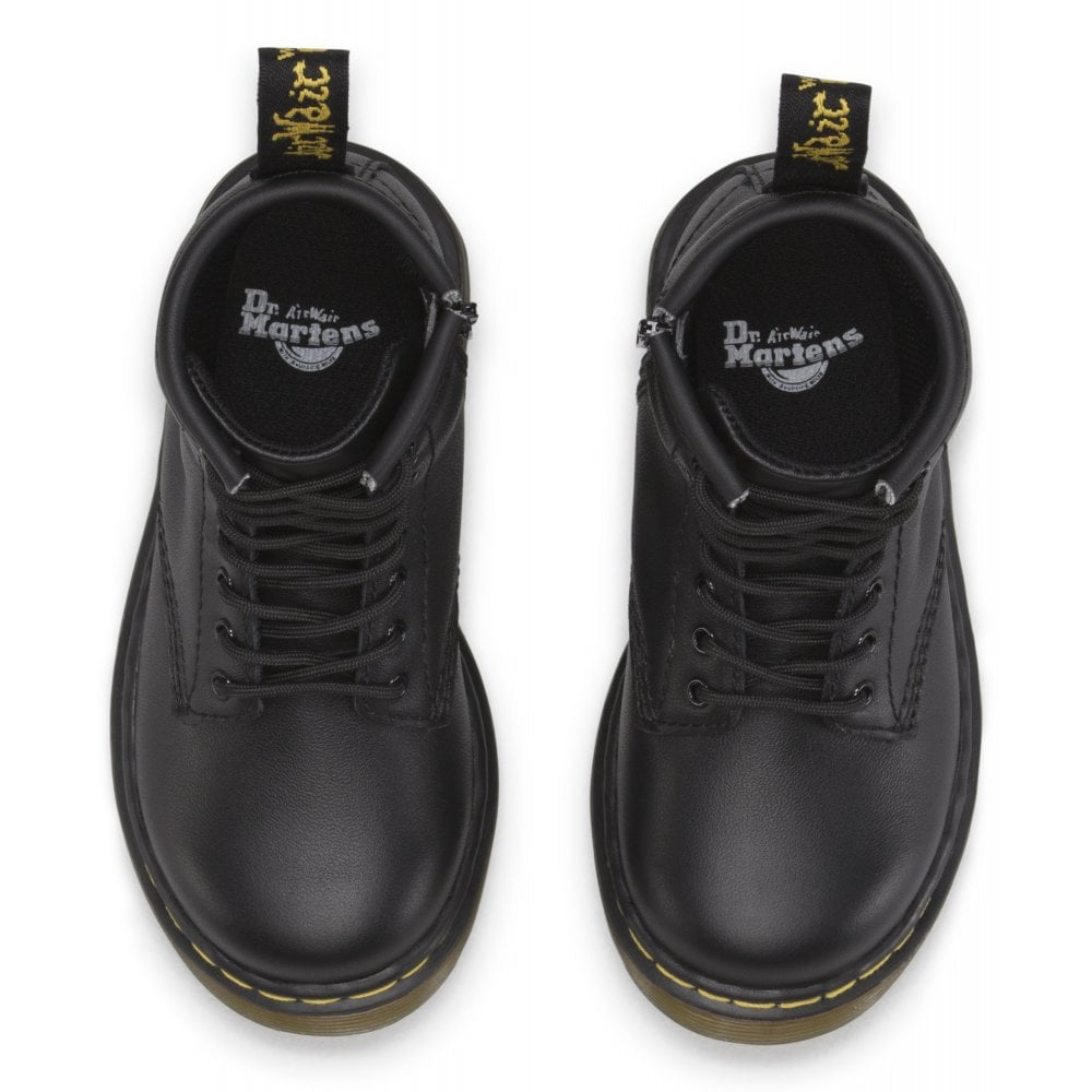 Martens Brooklee Soft T 15373001 Black Baby Toddler Shoes Dr