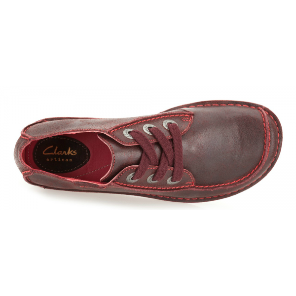 clarks funny dream oxblood off 60
