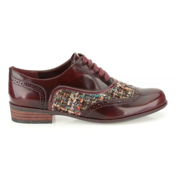 f4de255aff8e Ladies  Hamble Oak  Oxblood Casual Wide Fitting Shoe