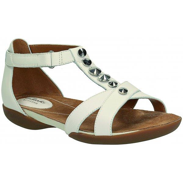 ed215ac4415 Ladies   Raffi Scent  White Leather Sandals