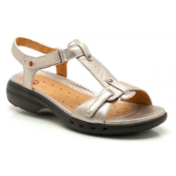 Un Swish Womens Velcro Fastening Sandals