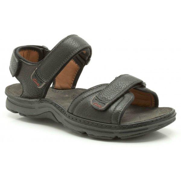 43f90b77d6bb Mens   039 ATL Part  039  Black Double Velcro Sandal