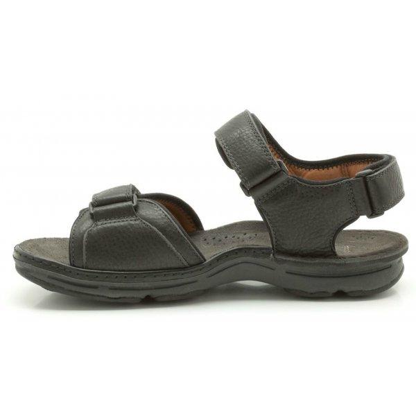 d4f412c269c Mens   039 ATL Part  039  Black Double Velcro Sandal