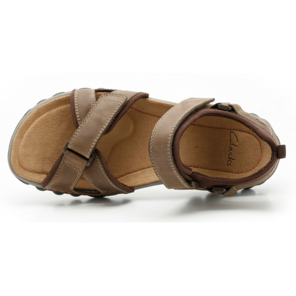 7ddfce9346248 Mens   039 Vextor Part  039  Tobacco Double Strap Sandal