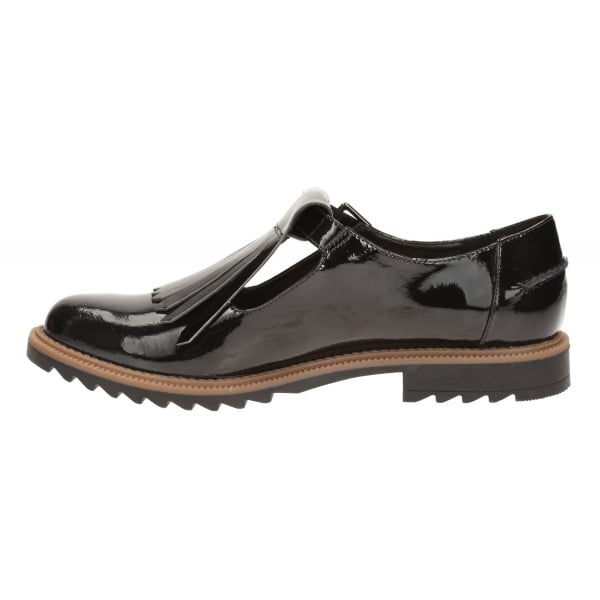 Griffin Mia Black Patent Casual Shoes