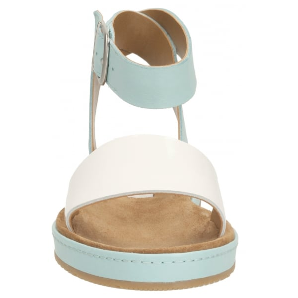 3ac2b3681 Clarks Ladies Romantic Moon DuckEgg Blue Sandals at Marshall Shoes