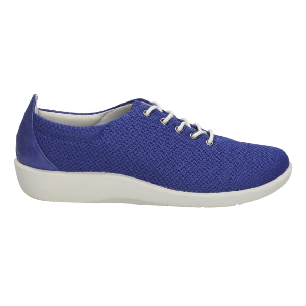 Clarks Womens Sillian Tino Blue Lace Up Shoes At Marshall
