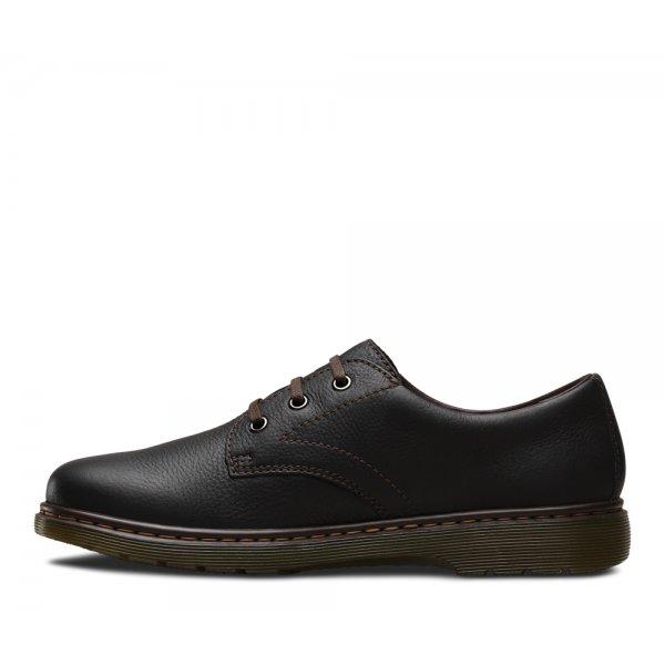 Dr Martens Mens Andre Black Lace Up Shoes 14802001