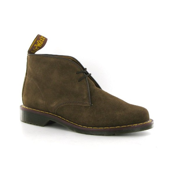 0c25d2c6d43 Dr Martens Mens Sawyer Golden Brown Suede Desert Boot 13257220