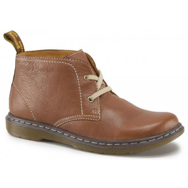 Dr Martens Womens Joylyn Tan 2 Eyelet Desert Boots 14761220 a63734d1a8