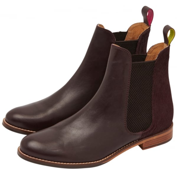 0e763e467306e Joules Womens Westbourne Oxblood Leather Chelsea Boot