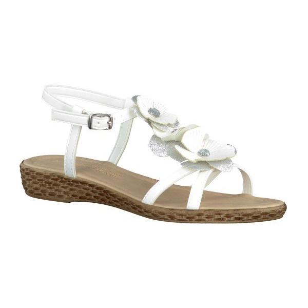 Marco Tozzi Womens White Sandals 2 28124 22 197