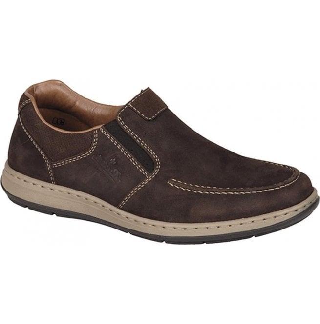 Rieker 17361-25 Arkansas Brown Leather
