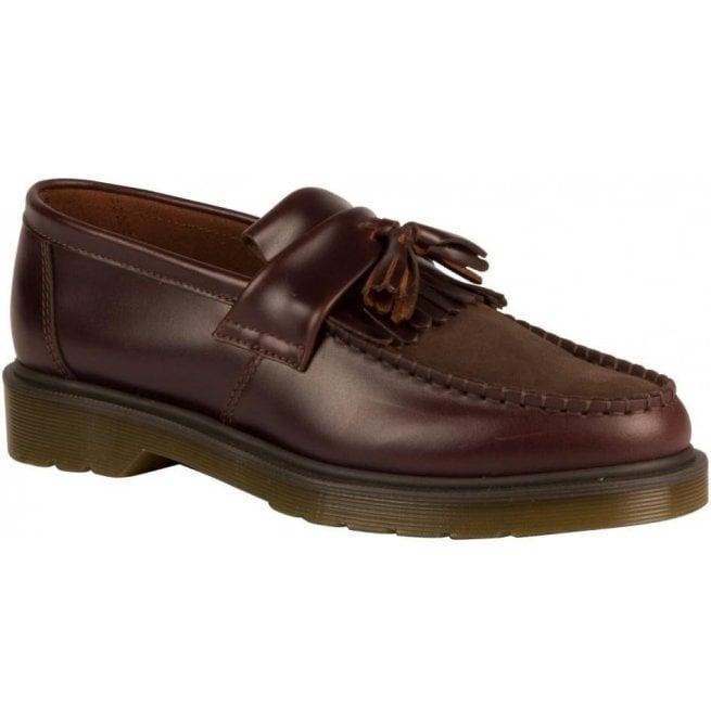 50224252d6e00 Dr Martens Mens Adrian Charro/Dark Brown Loafers 21498211