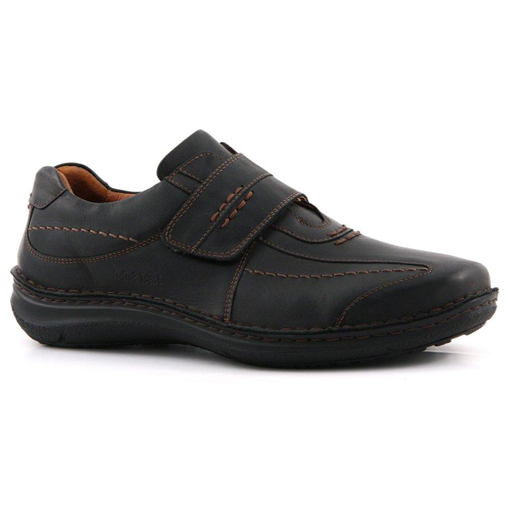 Josef Seibel Alec Black Wide Fit Velcro