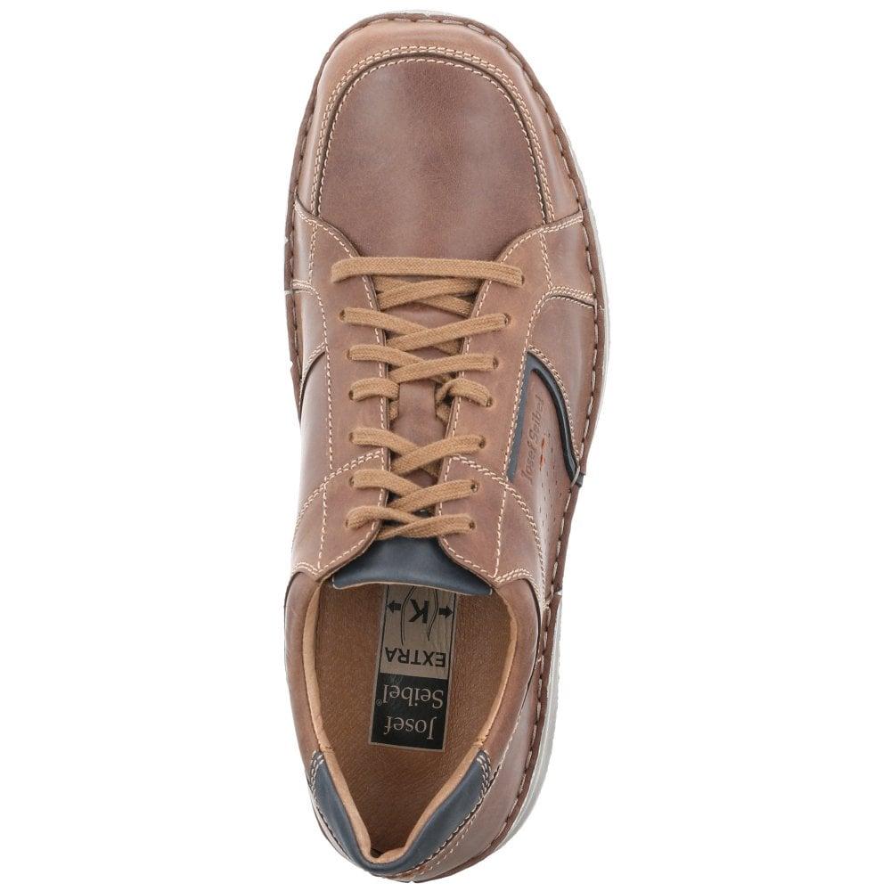 5c149d69af752 Mens Anvers 59 Chestnut Combi Lace Up Casual Shoes 43611 142 351