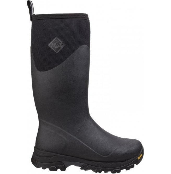 1a0c586ea425 Muck Boots Mens Arctic Ice Black Tall Extreme Conditions Sport Boots