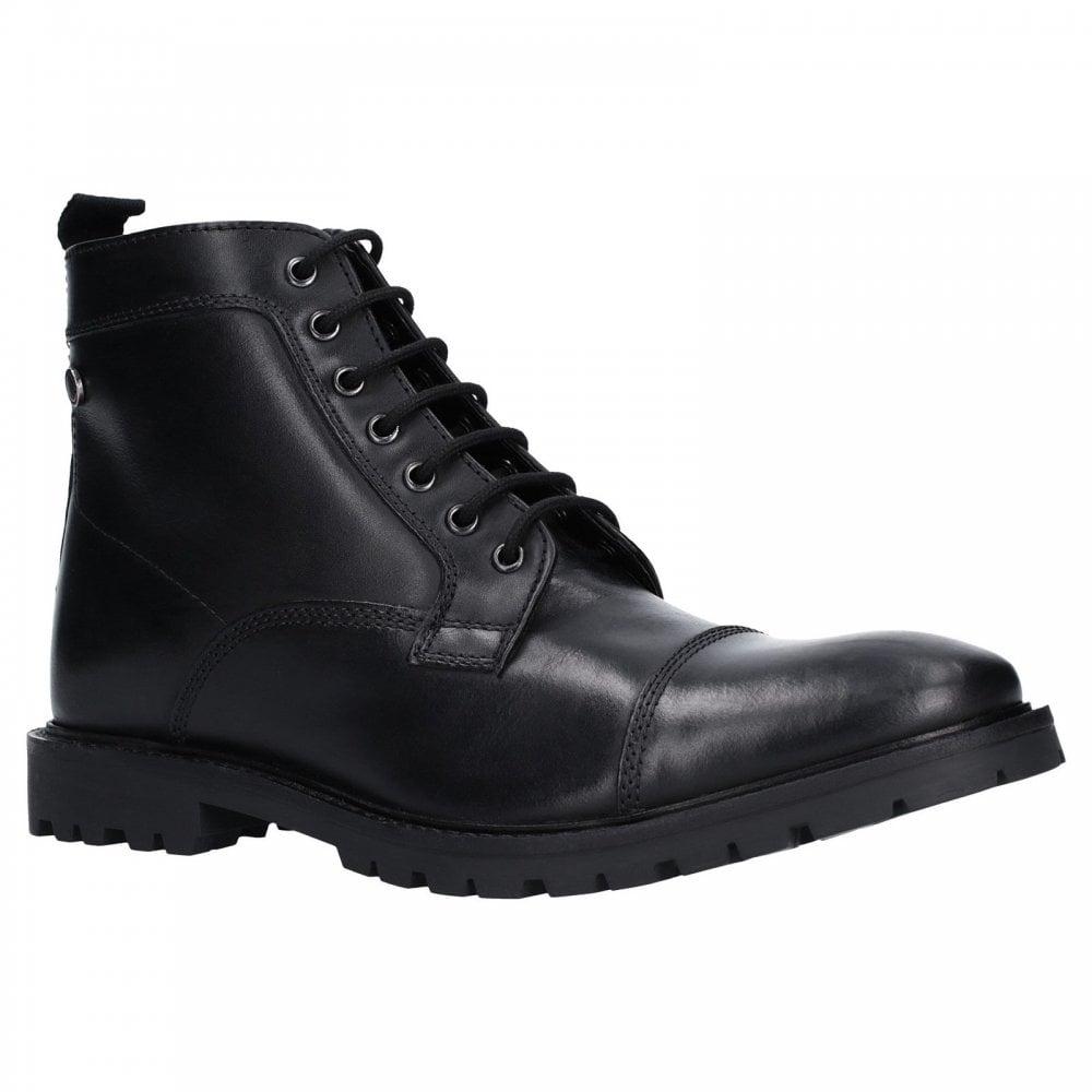 black lace boots mens