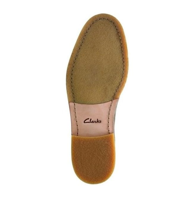 Clarks Men/'s Clarkdale Gobi Olive Suede Chelsea Boot 26127797