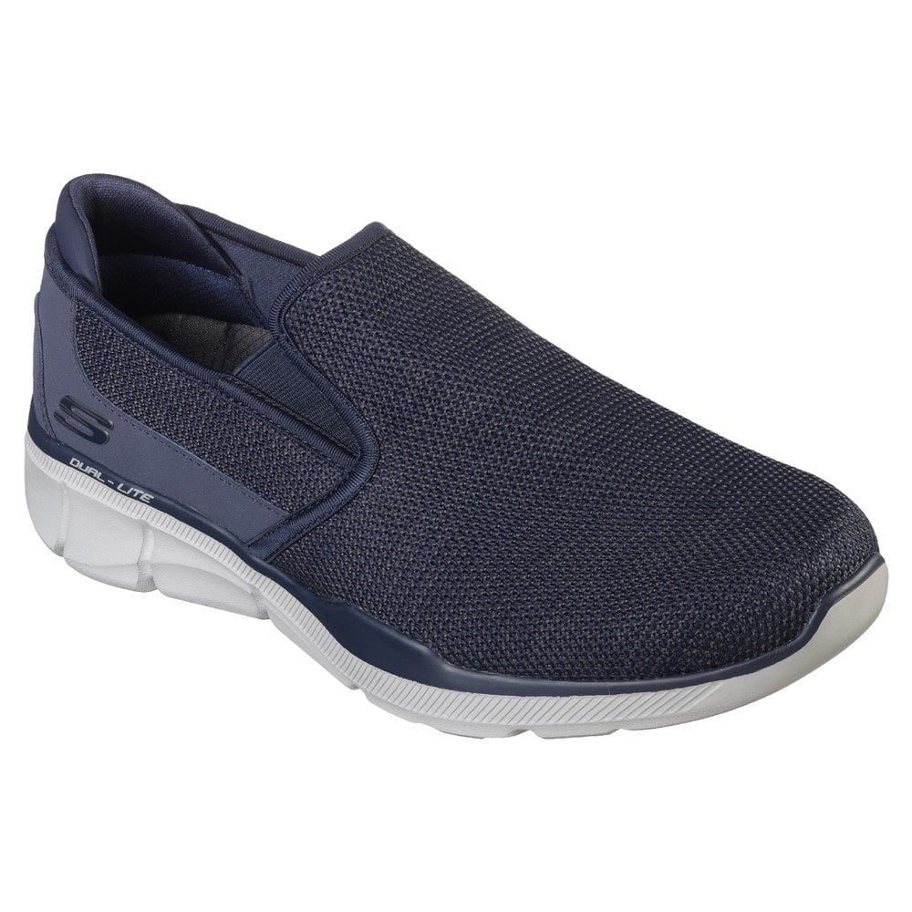 Sumnin Navy Slip-On Trainers 52937