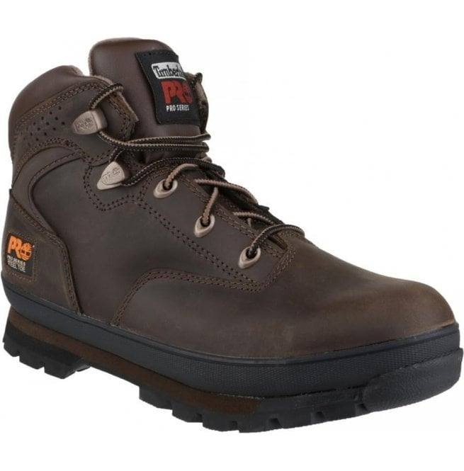 7afd50222796 Timberland Pro Timberland Pro Mens Euro Hiker Brown Lace-up Safety Boots