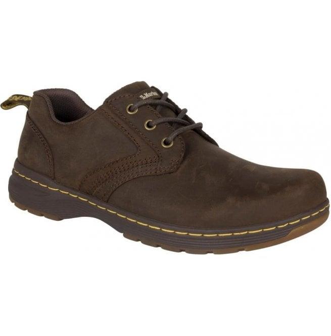 f1afd6ab280 Dr Martens Dr Martens Mens Gilmer Dark Brown Lace Up Shoes 22882201