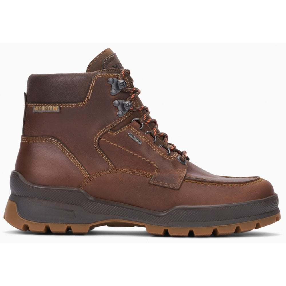 Mens Ivan GT Grizzly Kansas Tobacco Waterproof Lace-Up Walking Boots  144-2051-5128754