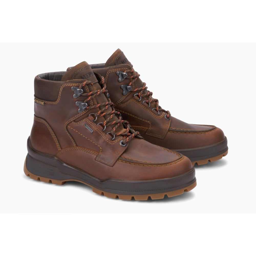 ee0215a7121 Mens Ivan GT Grizzly Kansas Tobacco Waterproof Lace-Up Walking Boots  144-2051-5128754