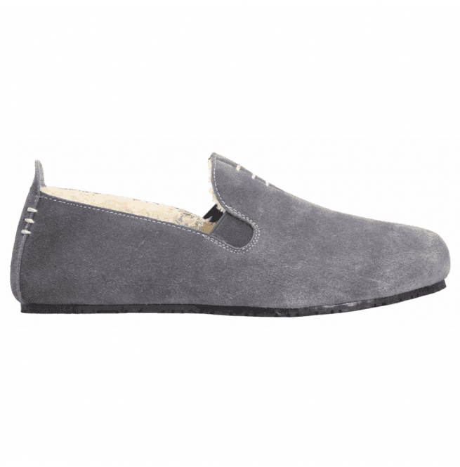 a961d780dff8 Clarks Mens Kite Falcon Grey Suede Slippers