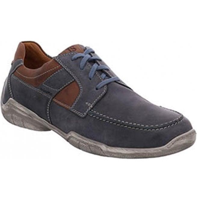 Josef Seibel Josef Seibel Mens Linus 01 Ocean Leather Lace Up Shoes 24301  950 531 ffe8bce0e0