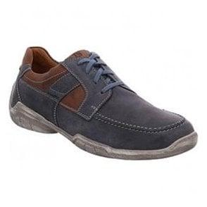 Mens Linus 01 Ocean Leather Lace Up Shoes 24301 950 531. Josef Seibel ... 98af829a5b