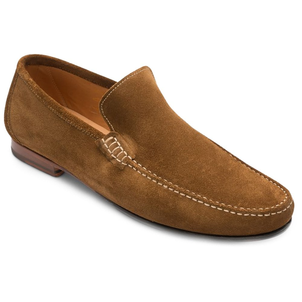 Loake Nicholson Brown Suede Moccasin