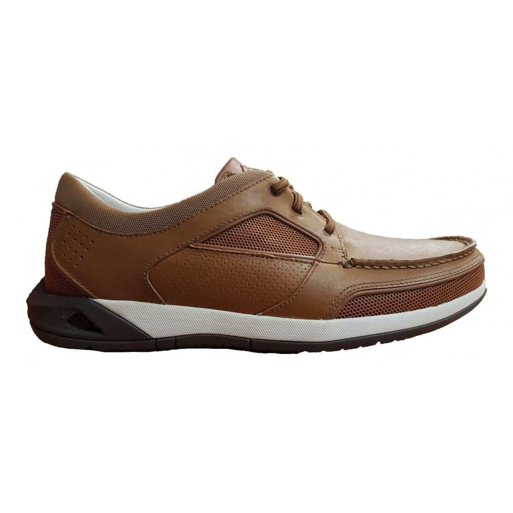 Clarks Ormand Sail Light Brown Leather