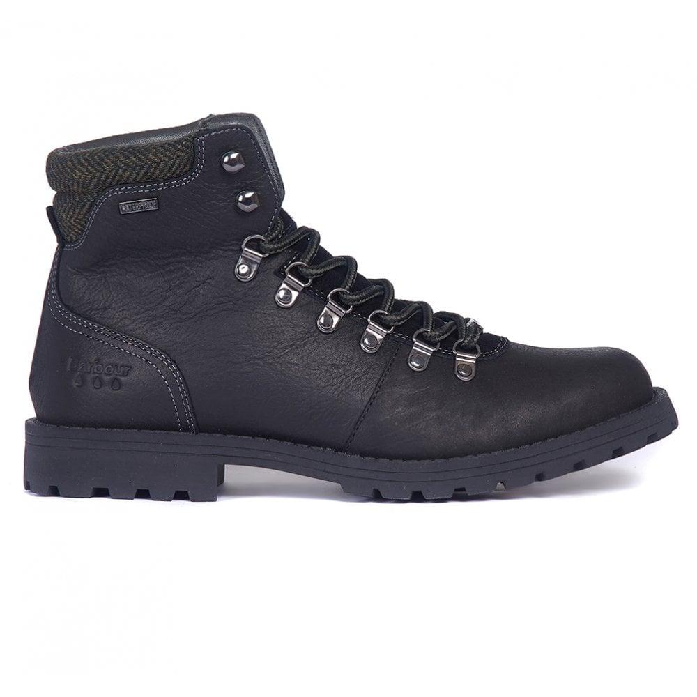 mens black waterproof hiking boots