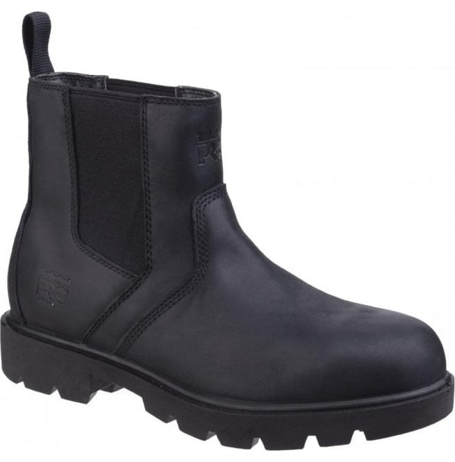 e4429362a5a Mens Sawhorse Black Dealer Slip-On Safety Boots