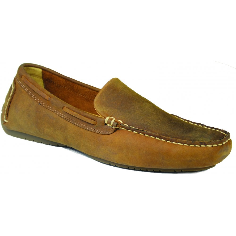 362bf639683e3 Orca Bay Orca Bay Mens Silverstone Sand Suede Slip-On Loafers