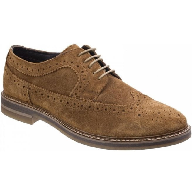 Base London Turner Tan Suede Leather