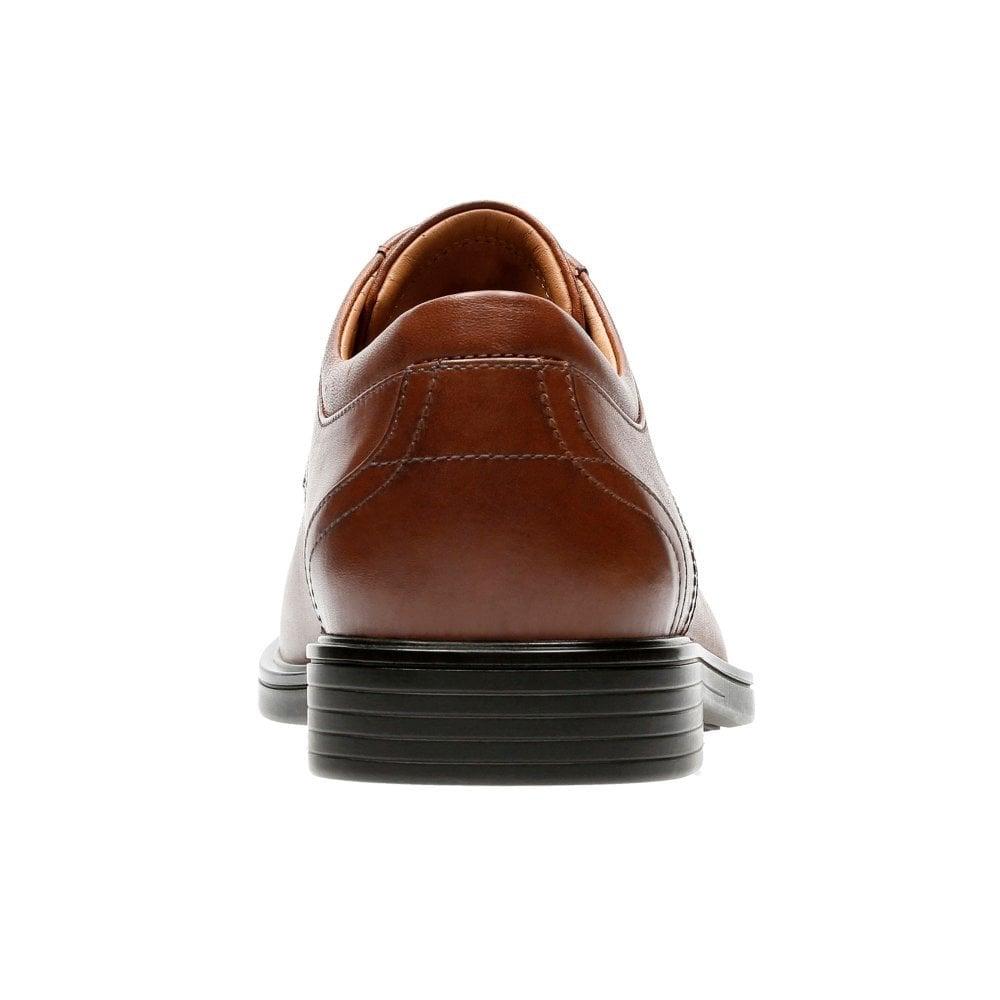49aef1c0f8e Clarks Mens Un Aldric Park Tan Leather Shoes 26132672