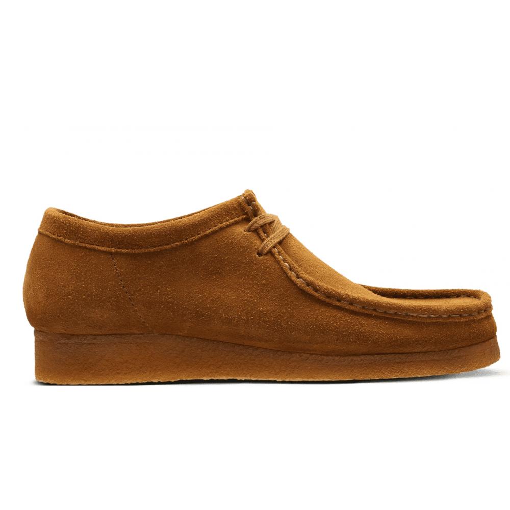 esta pánico reacción  Clarks Originals Wallabee Cola Suede Lace-Up Shoes 26133280 | Official  Stockist | Marshall Shoes Est 1895