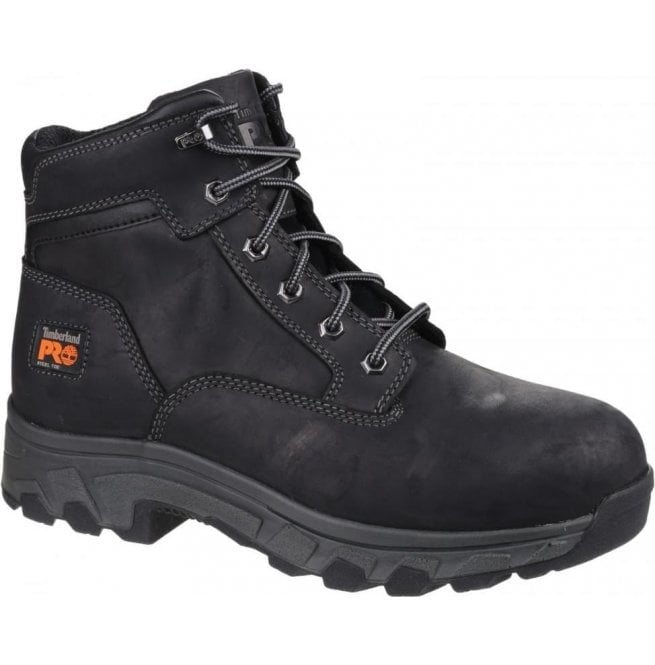 87f8d9ad749 Mens Workstead Black Lace-up Safety Boots