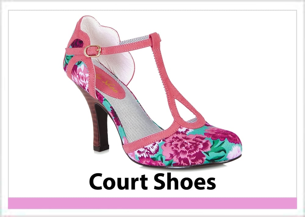 Womens Court Shoes