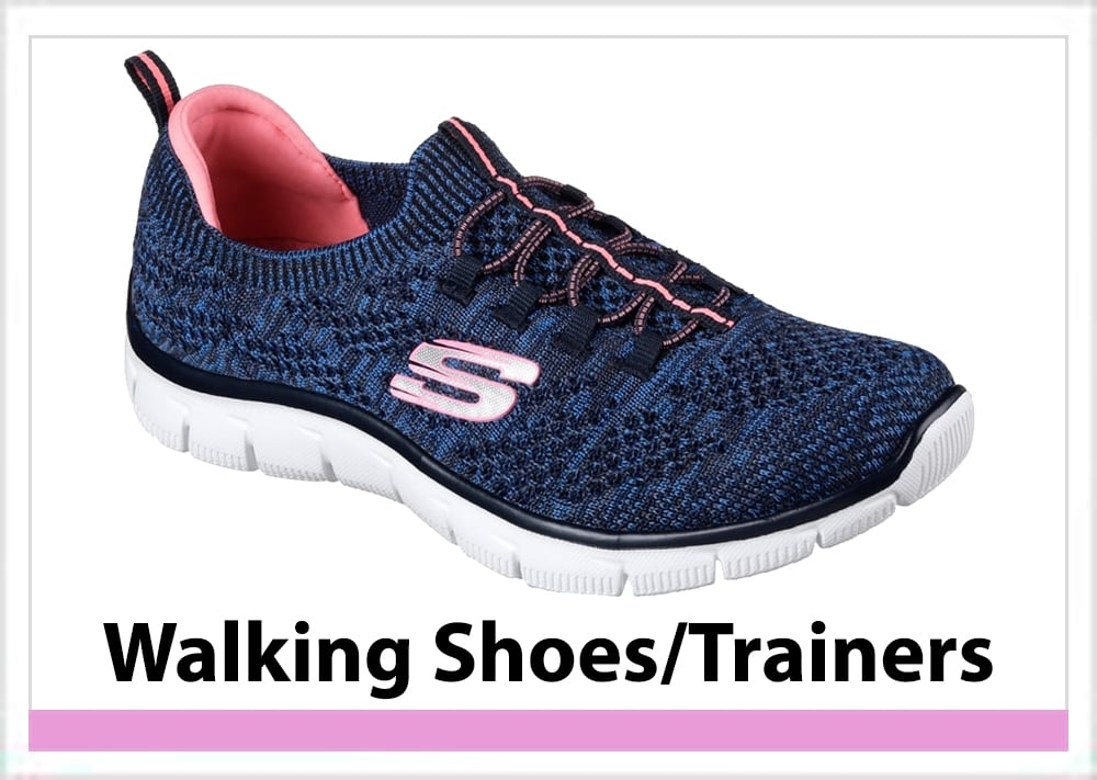 Dek Wide Fit Walking Shoe