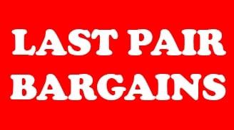 Last Pair Bargains