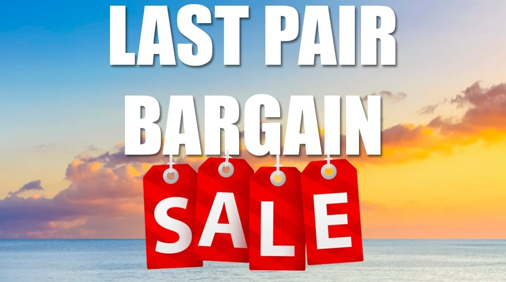 Last Pair Bargains