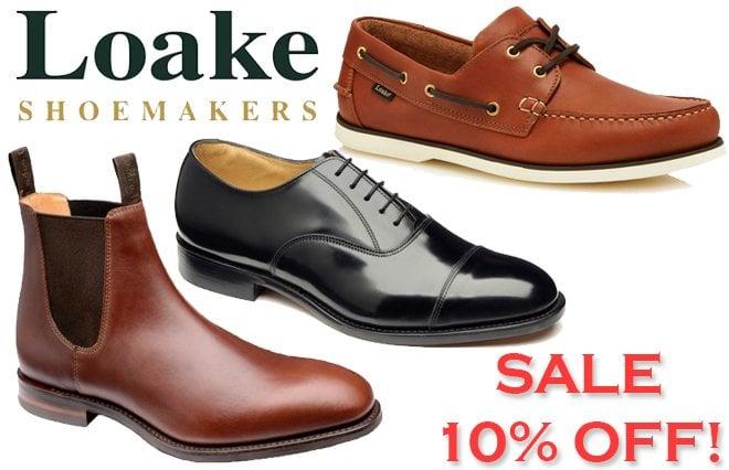 Loake 10% Sale